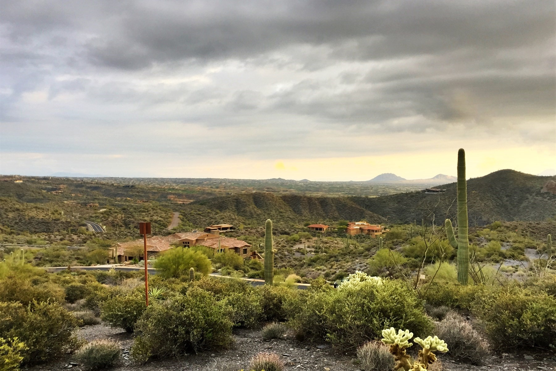 sales property at Elevated estate lot in Desert Mountain's Cintarosa at Saguaro Forest village