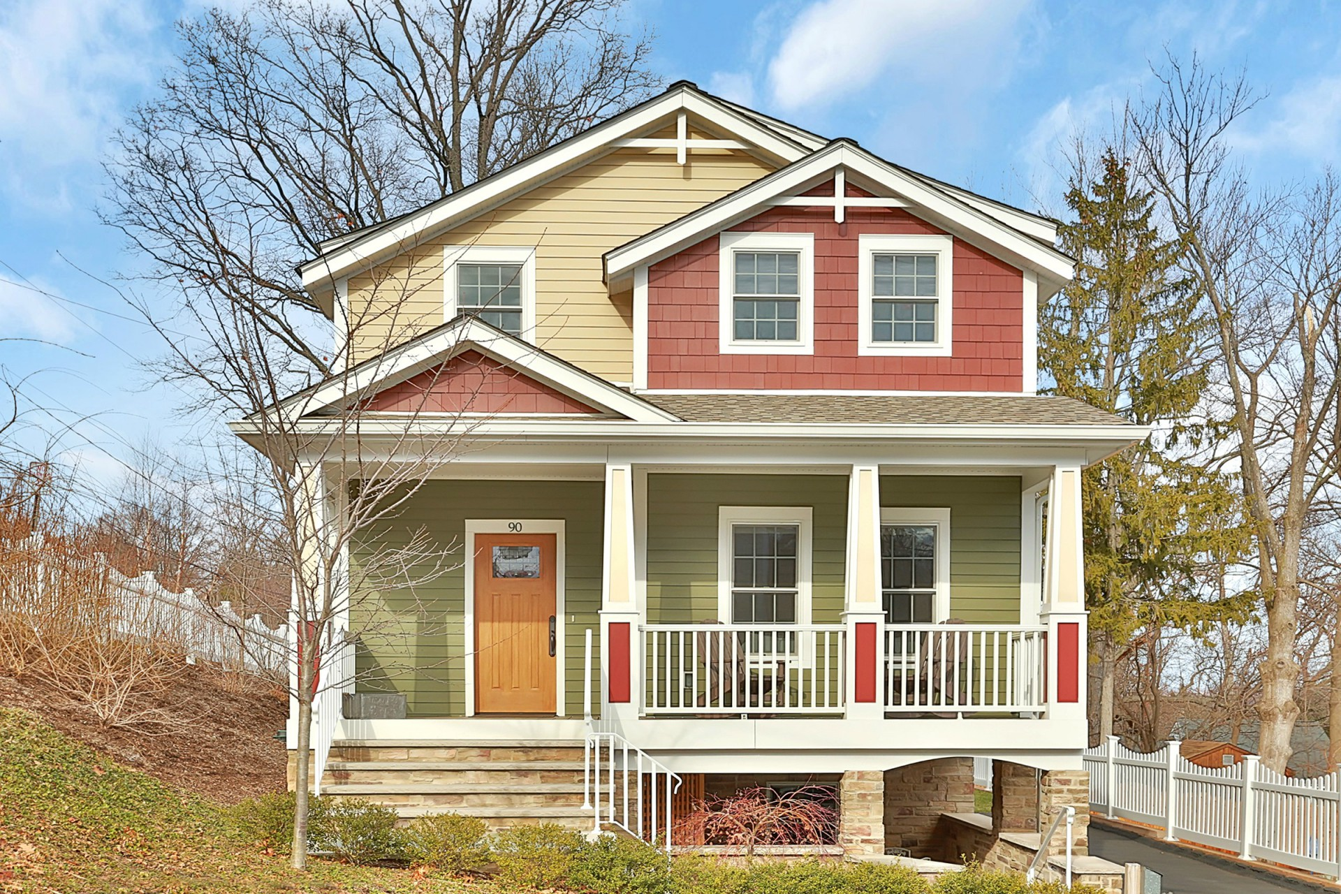 Single Family Home for Sale at Village Colonial 90 6th Ave Nyack, New York, 10960 United States