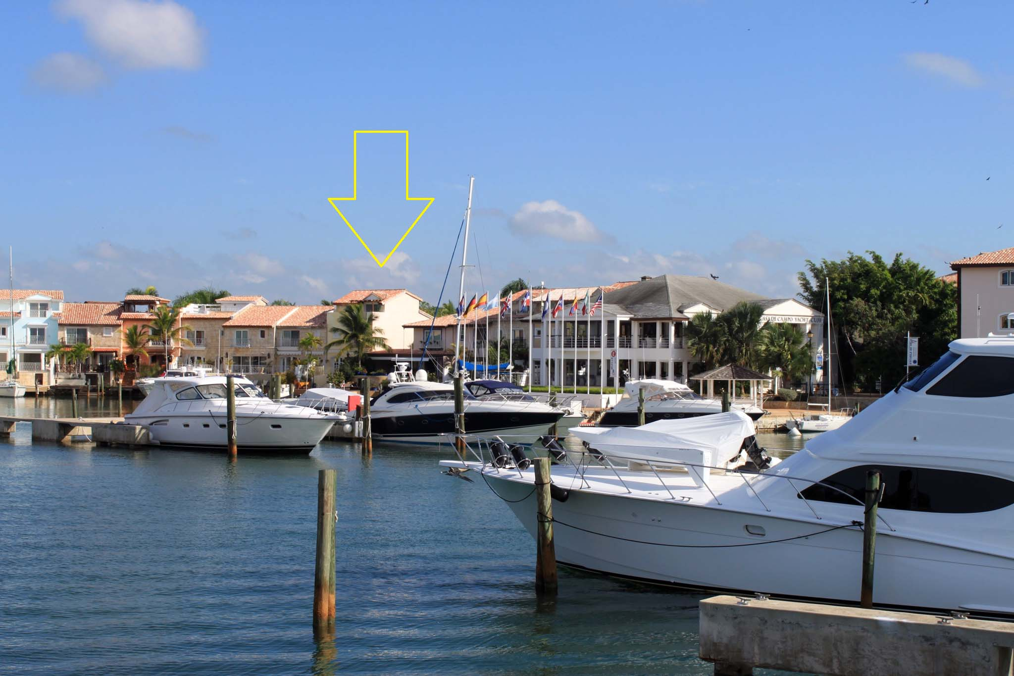 sales property at Contemporary waterfront townhome with private dock (50 Ft.)