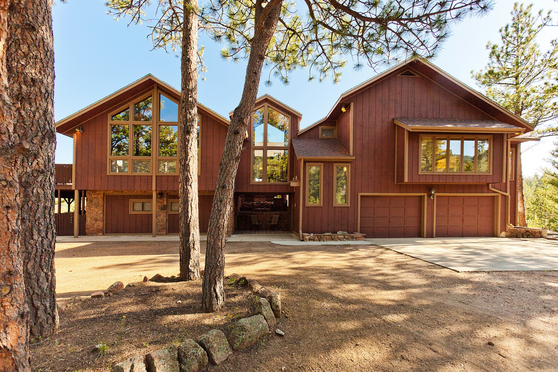 Single Family Home for Sale at Owl's Nest 129 Greystone Trail Evergreen, Colorado 80439 United States