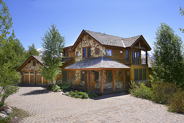 Single Family Home for Sale at Tranquil Mountain Home 2 Peakview Drive Mount Crested Butte, Colorado 81225 United States