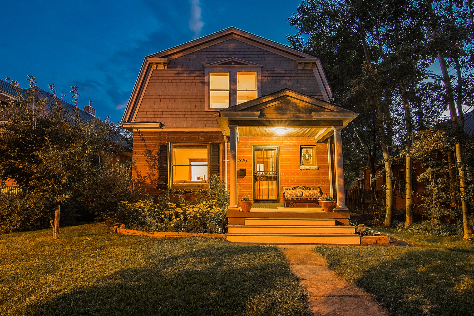 Single Family Home for Sale at Dutch Colonial in Excellent Block of Washington Park West 625 South Washington Street Washington Park West, Denver, Colorado 80209 United States