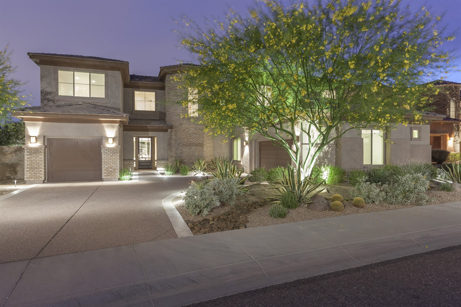 Single Family Home for Sale at Luxury, designer, and highly upgraded home in Windgate Ranch 17806 N 97TH PL Scottsdale, Arizona 85255 United States