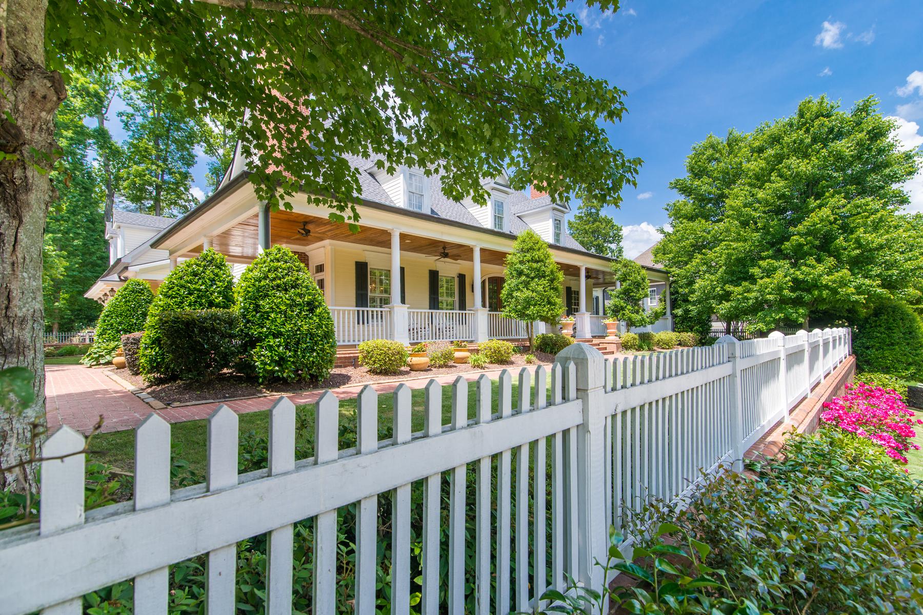 Villa per Vendita alle ore Extraordinary Virginia Farmhouse Estate 4167 Chimney Heights NE Roswell, Georgia 30075 Stati Uniti