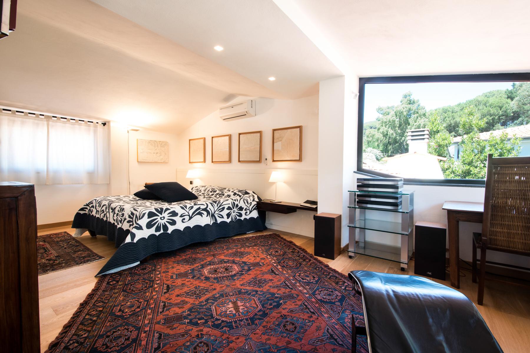 Additional photo for property listing at Discreet villa with garden on Elba Via Murzi Marciana Marina, Livorno 57033 Italy