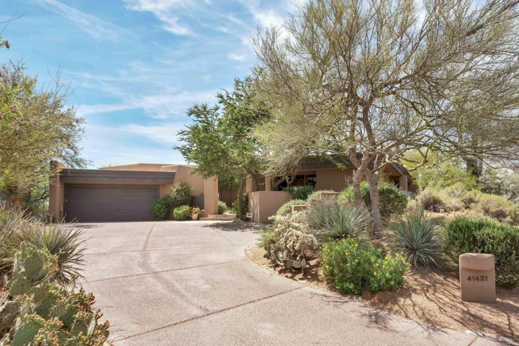 Частный односемейный дом для того Продажа на Wonderful south facing home in the village of Cochise Ridge 41431 N 106TH ST N Scottsdale, Аризона, 85262 Соединенные Штаты