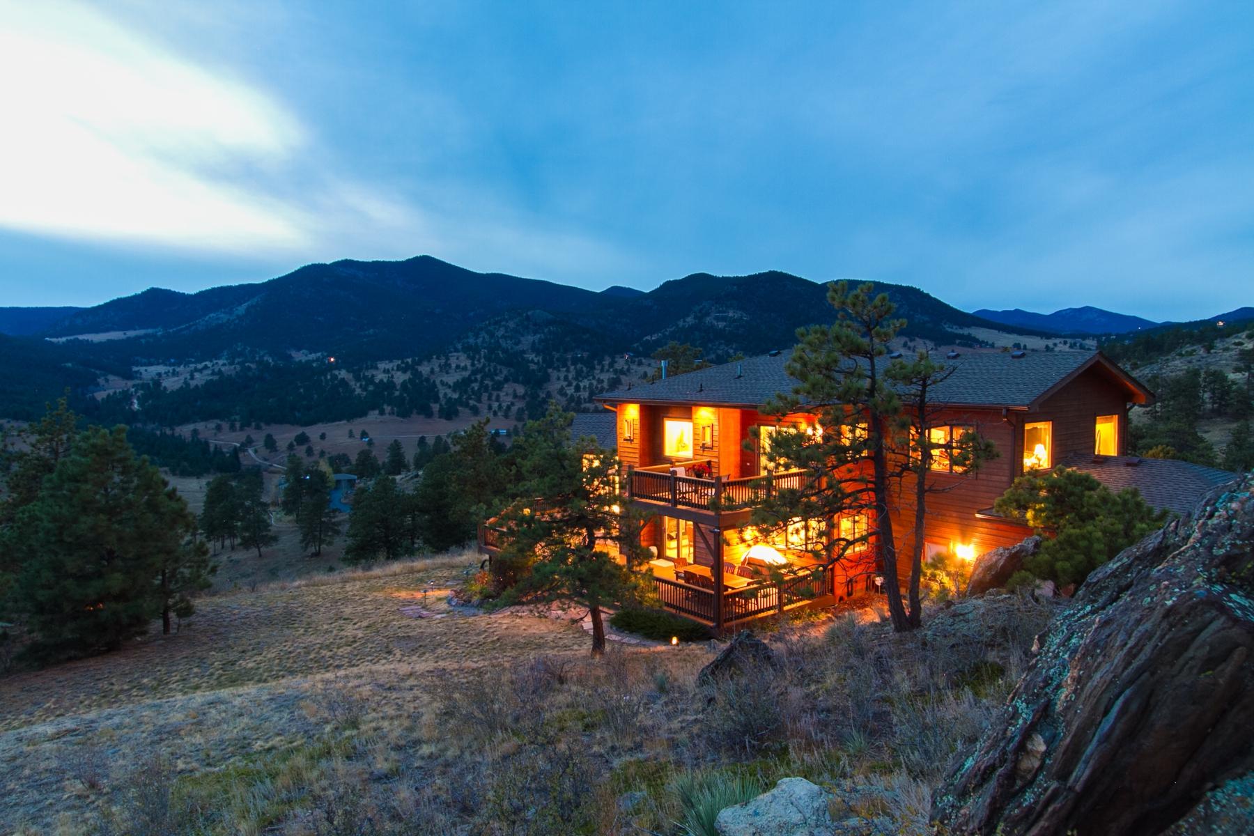 獨棟家庭住宅 為 出售 在 Executive Retreat 26850 Perseverance Trl Golden, 科羅拉多州 80403 美國