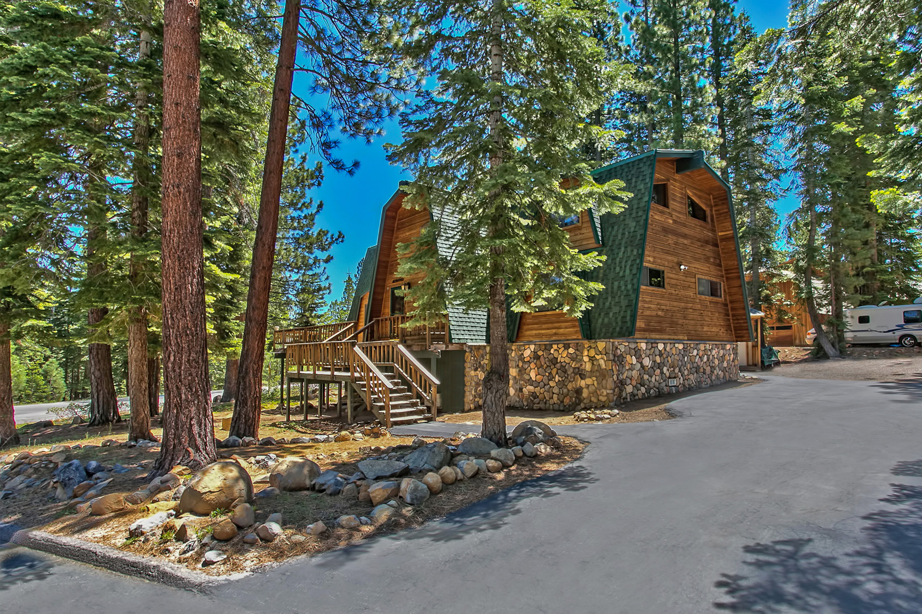 Single Family Home for Active at 1203 Lords Way Tahoe Vista, California 96148 United States