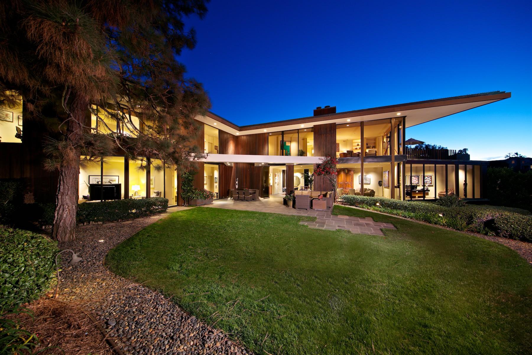 Maison unifamiliale pour l Vente à 1585 Coast Walk La Jolla, Californie, 92037 États-Unis