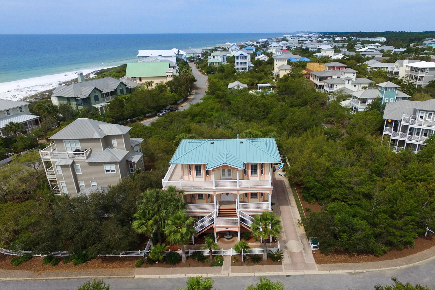 Vivienda unifamiliar por un Venta en ELEGANT GULF VIEW HOME WITH PRIVATE BEACH 260 Old Beach Road Santa Rosa Beach, Florida, 32459 Estados Unidos