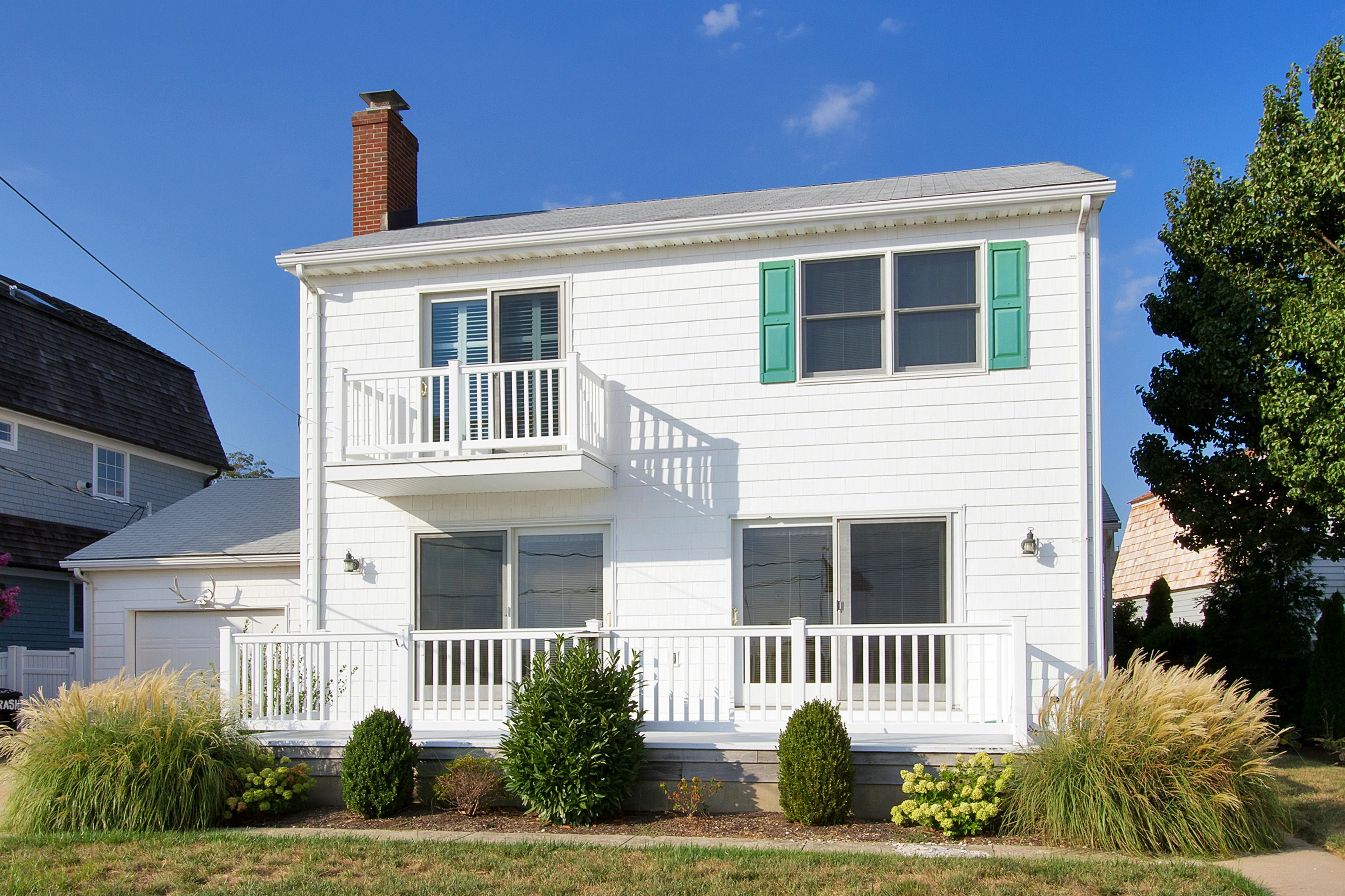 Single Family Home for Sale at Scenic Waterfront Colonial 390 Perrine Blvd Manasquan, New Jersey, 08736 United States