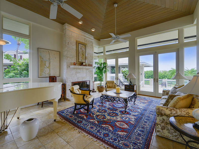 Maison unifamiliale pour l Vente à Stunning Waterfront Home at Ocean Reef 12 Osprey Lane Ocean Reef Community, Key Largo, Florida 33037 États-Unis