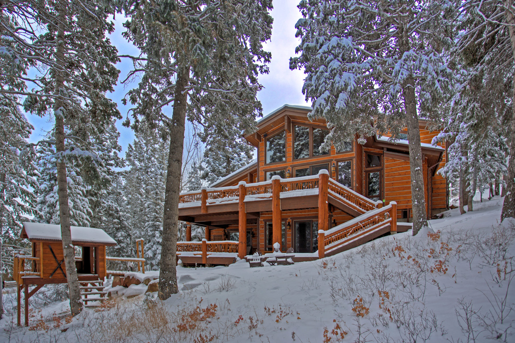 단독 가정 주택 용 매매 에 Ski-In/Ski-Out Deer Valley Home 6935 Silver Lake Dr Park City, 유타 84060 미국
