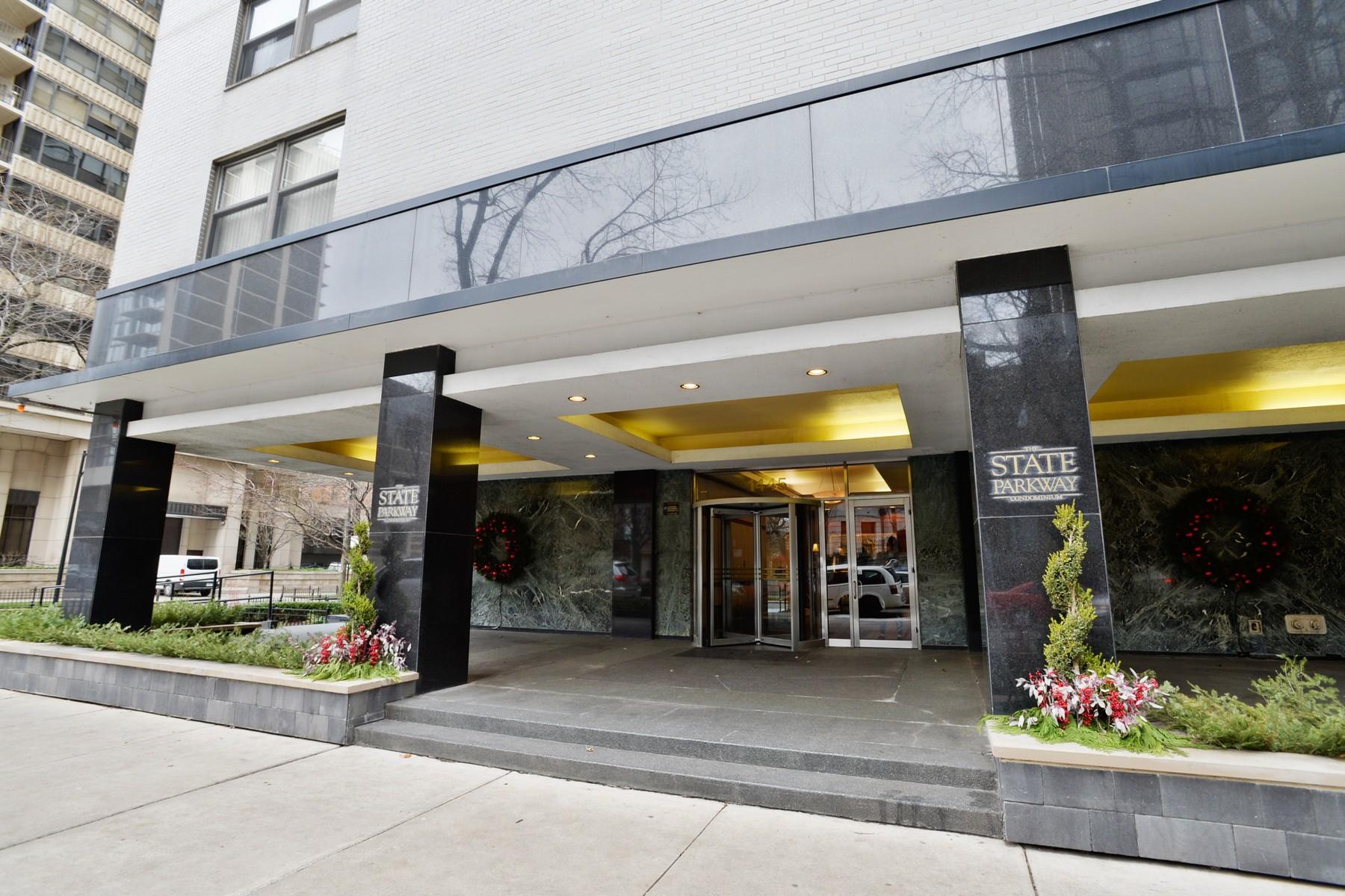 共管式独立产权公寓 为 销售 在 Rare Gold Coast Value 1445 N State Parkway Unit 704 Near North Side, 芝加哥, 伊利诺斯州 60610 美国