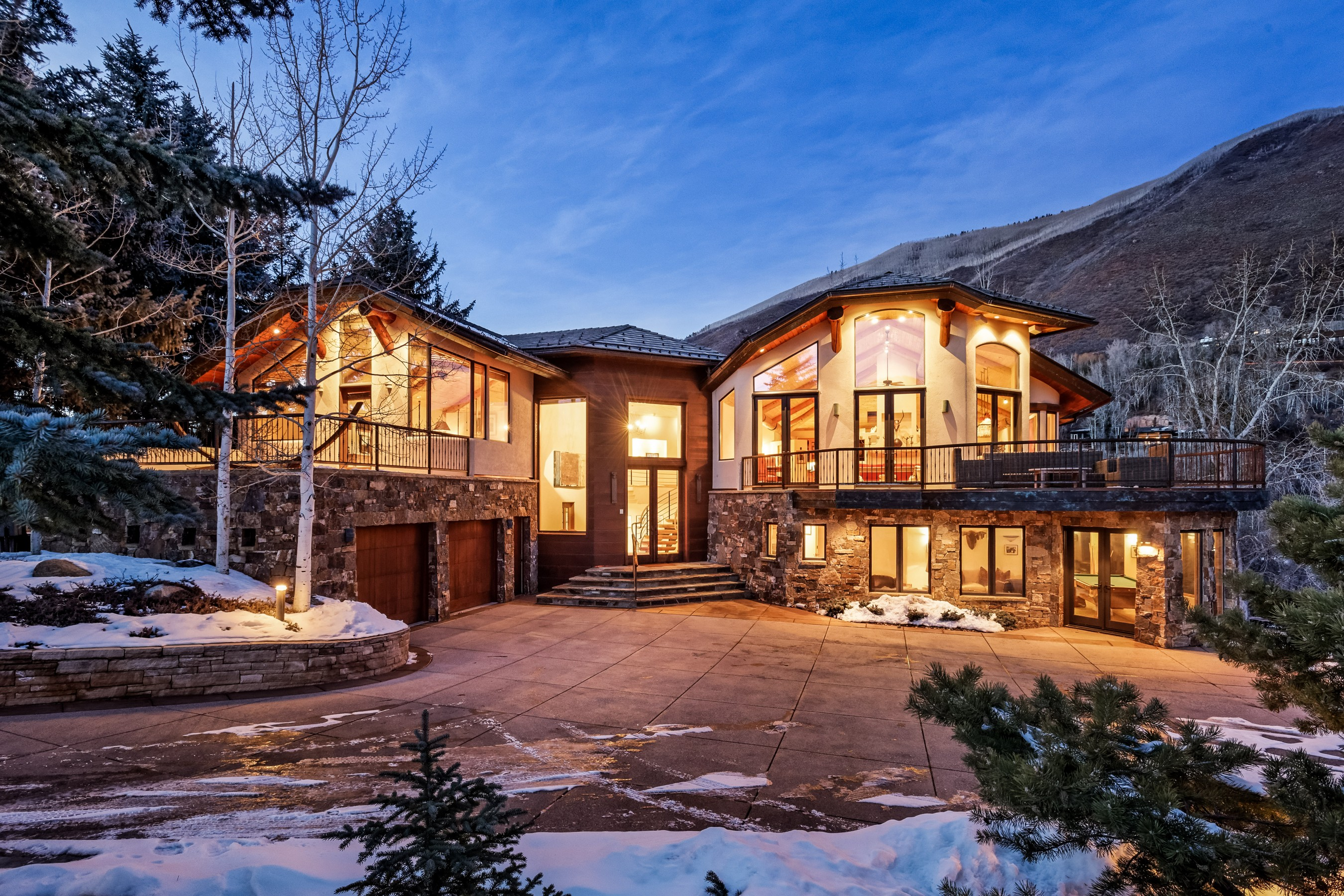 Maison unifamiliale pour l Vente à Picture Perfect Views 386 Ridge Road Aspen, Colorado, 81611 États-Unis