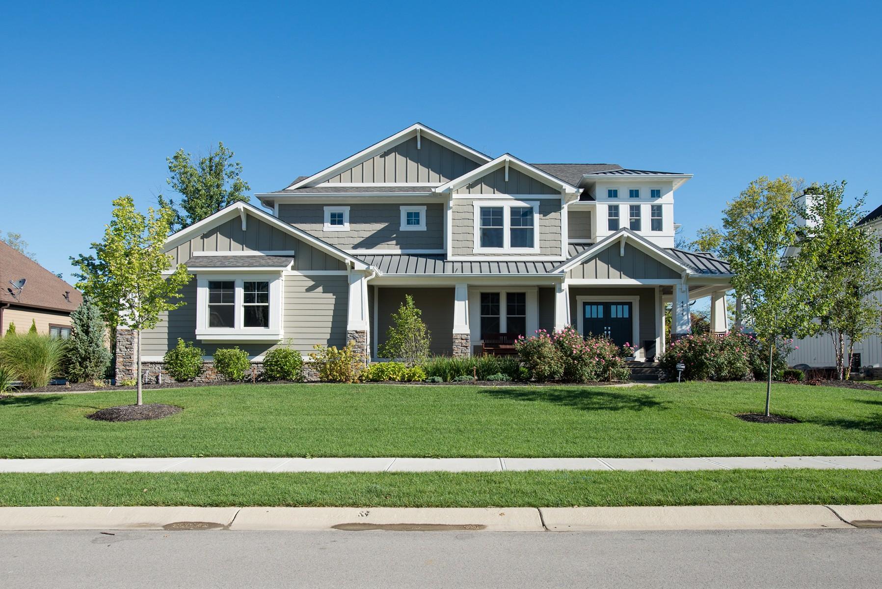独户住宅 为 销售 在 Magnificent Home 2014 Home-A-Rama Winner 4474 Majestic Oak Court 韦斯特菲尔德, 印第安纳州, 46062 美国
