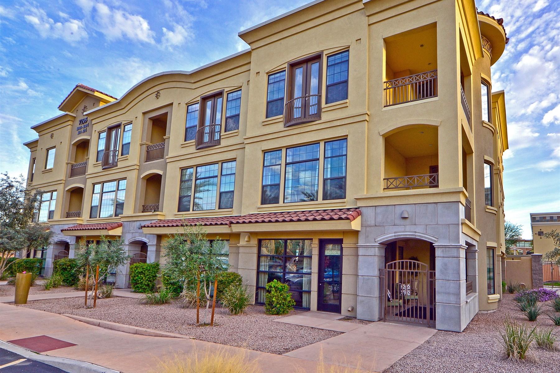 Moradia em banda para Venda às Elegant Live/Work Property in The Heart Of The Scottsdale Retail/Resort Corridor 7295 N Scottsdale Rd #1001 Scottsdale, Arizona 85253 Estados Unidos