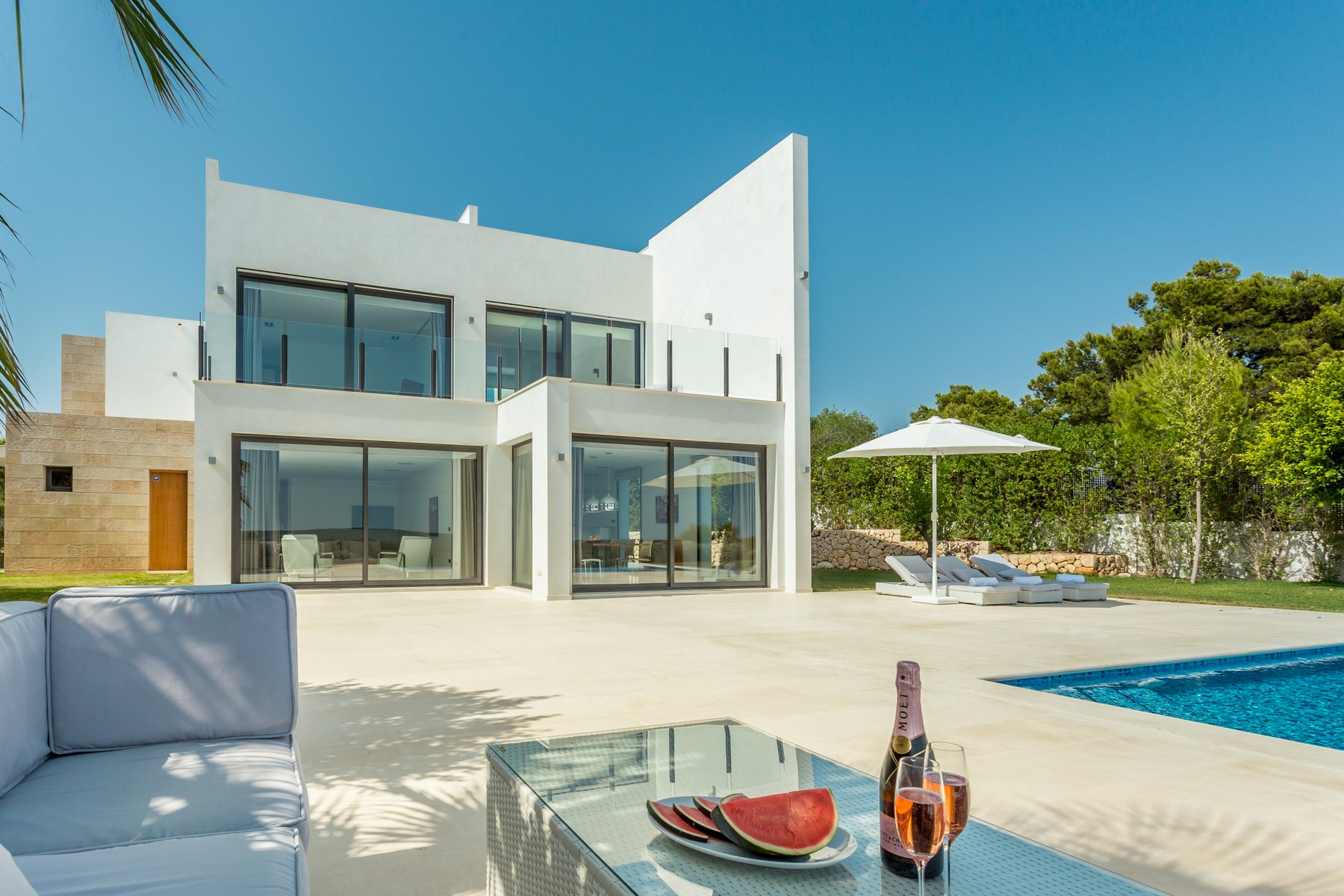 Single Family Home for Sale at Modern villa with panoramic views Carrer Guillem de Montcada Santa Ponsa, Mallorca, 07180 Spain