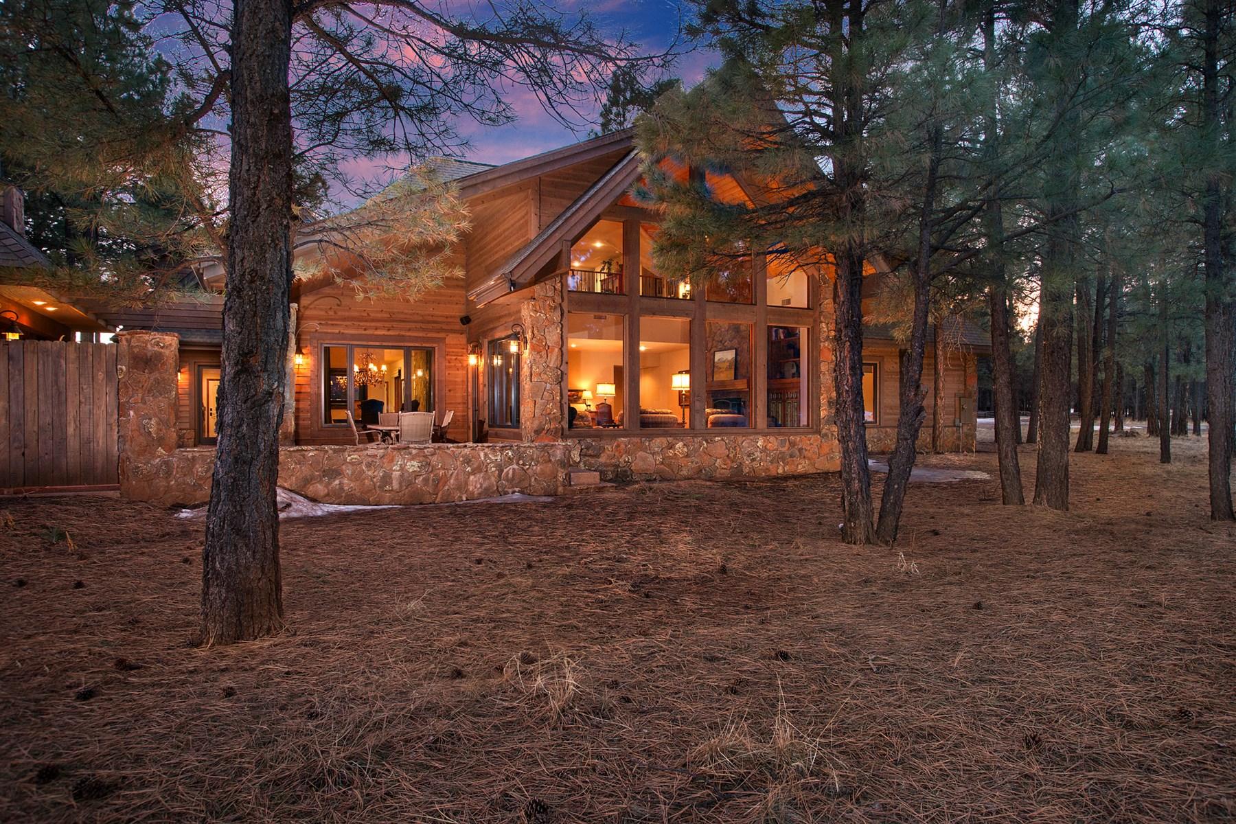 단독 가정 주택 용 매매 에 Situated on 2 treed acres in Wing Mountain Ranch 7250 N Hadrians Walk Flagstaff, 아리조나, 86001 미국