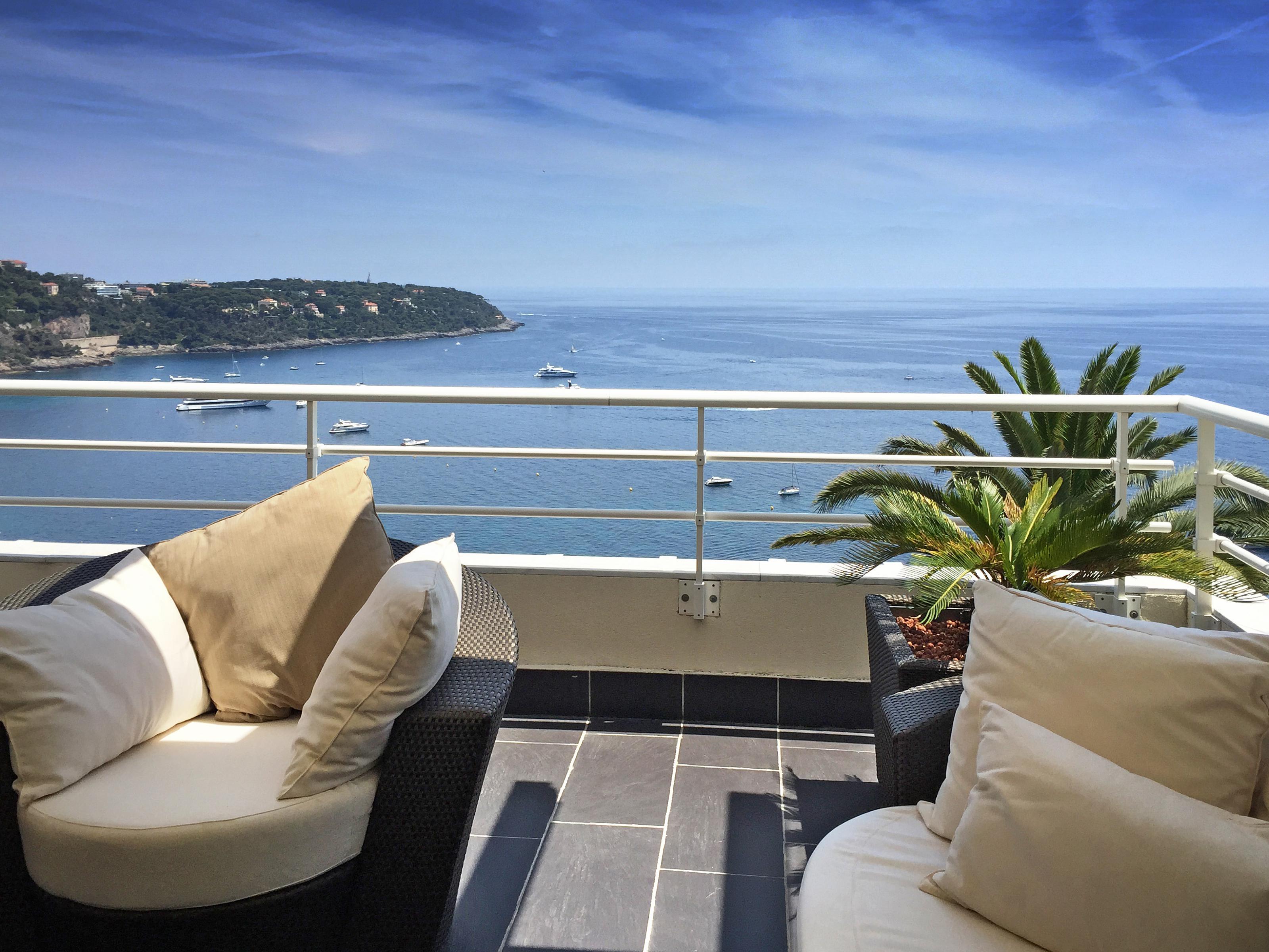 Single Family Home for Sale at Luxury duplex penthouse facing Cap Martin Roquebrune Cap Martin Roquebrune Cap Martin, Provence-Alpes-Cote D'Azur 06190 France