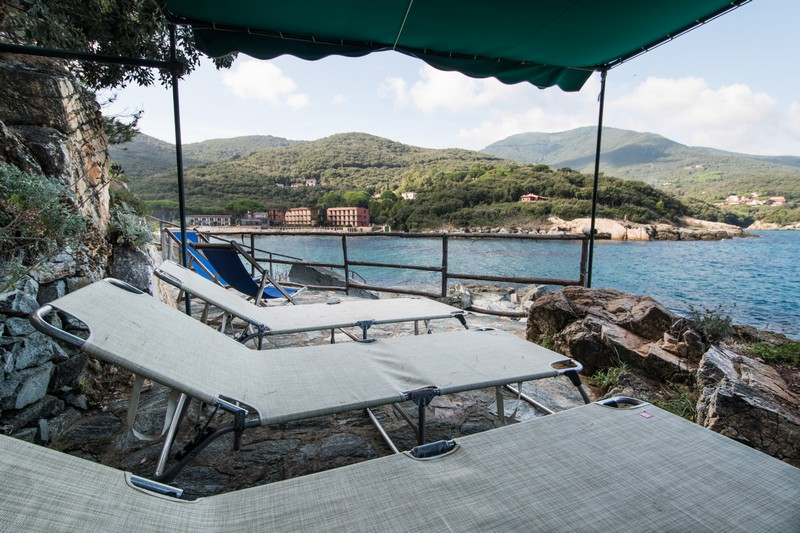 Additional photo for property listing at Elba's style Villa with private beach Via di Spartaia Marciana Marina, Livorno 57030 Italy