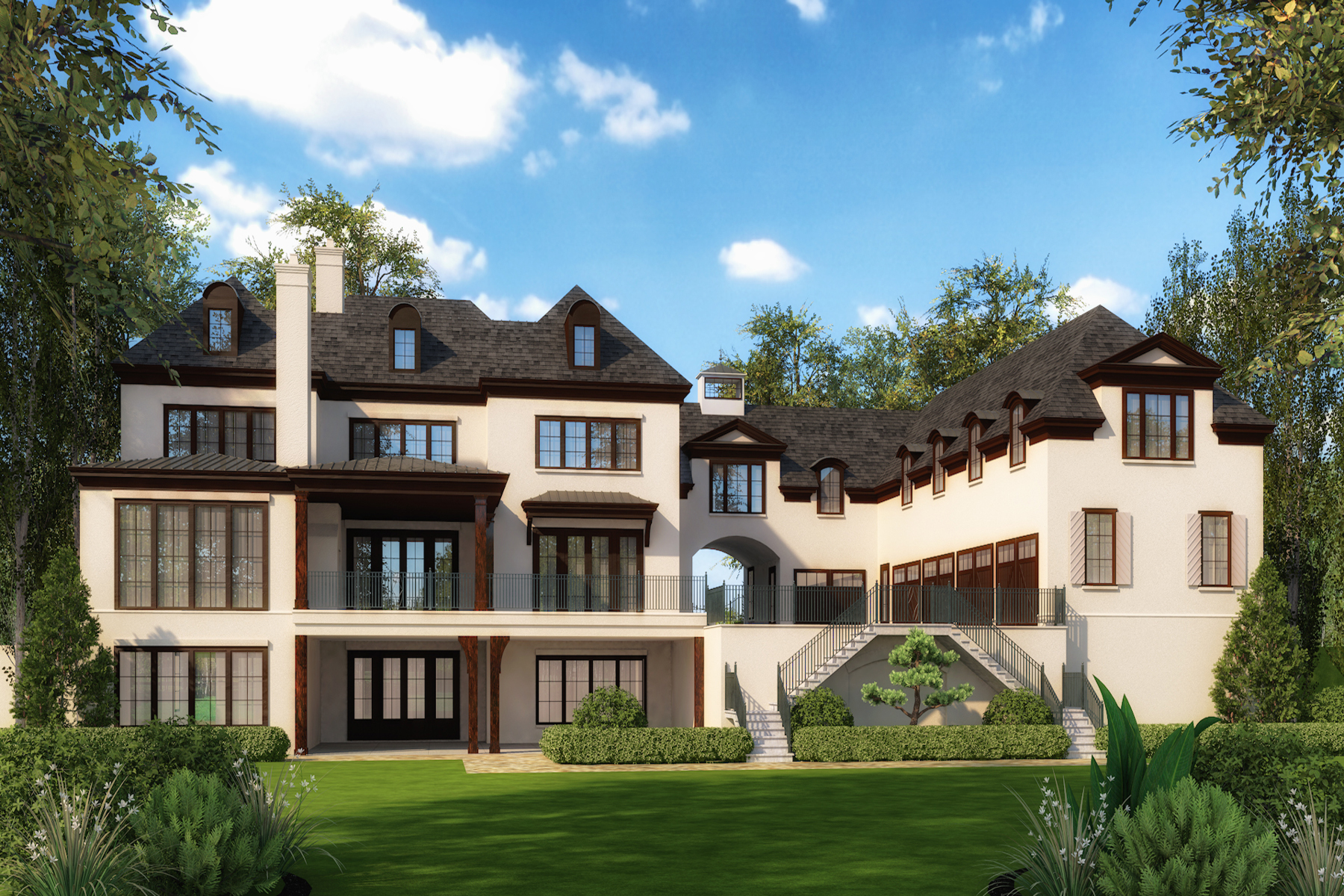 Additional photo for property listing at Exquisite New Construction 4126 Conway Valley Road NW Atlanta, Джорджия 30327 Соединенные Штаты