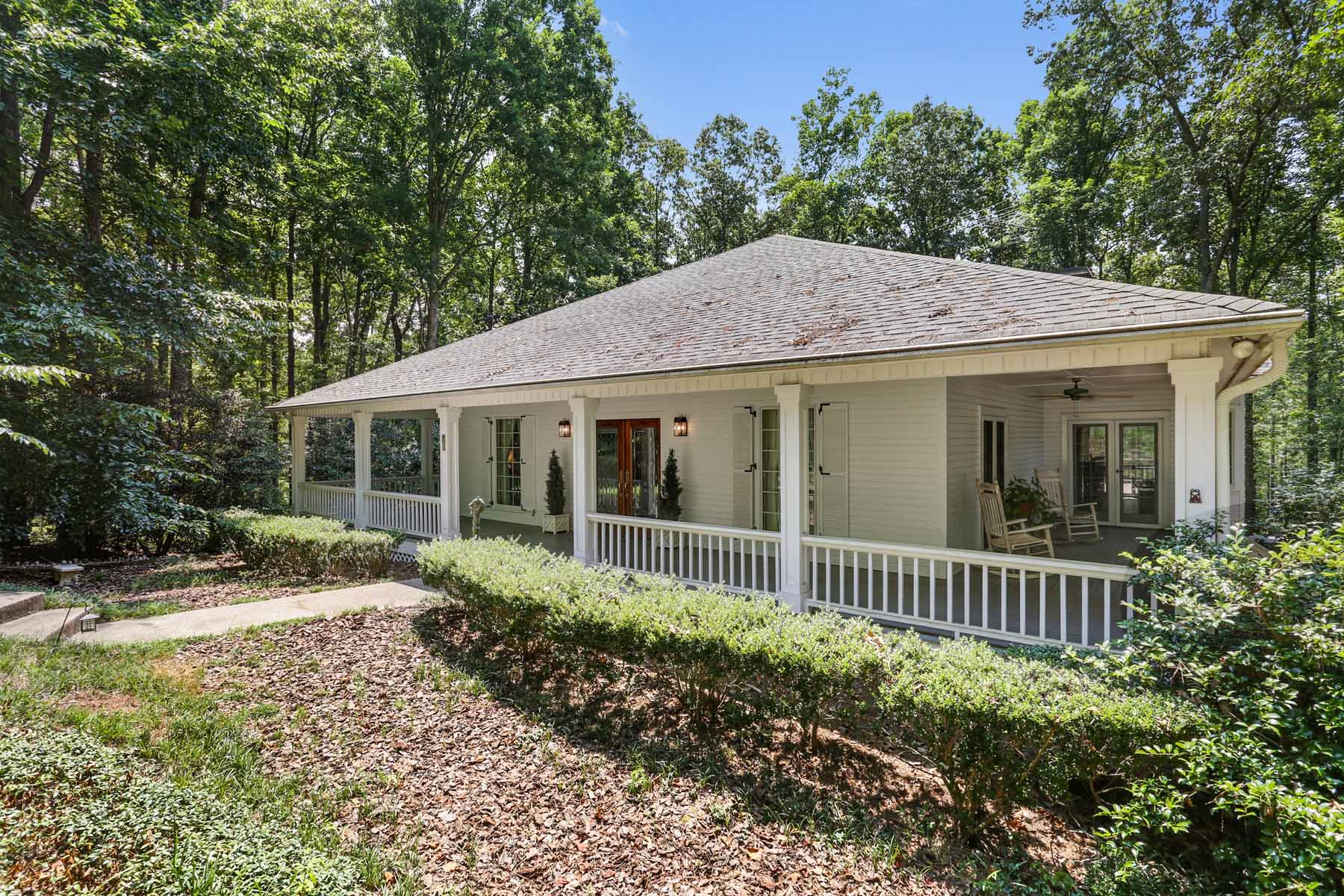 一戸建て のために 売買 アット Equestrian Living in Milton 575 Hickory Flat Road Milton, ジョージア, 30004 アメリカ合衆国