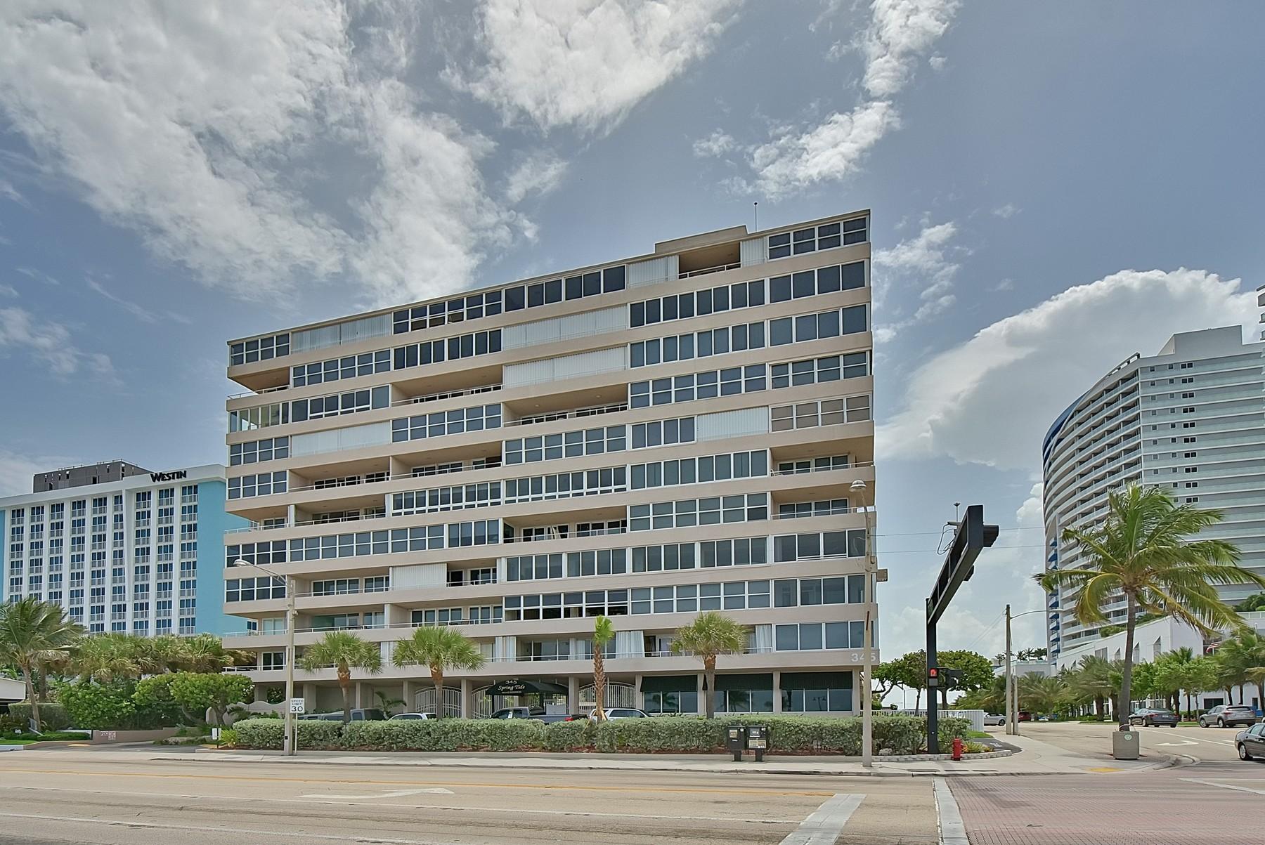 Condominio por un Venta en Spring Tide 345 N. Ft. Lauderdale Beach Blvd. #503 Fort Lauderdale, Florida 33304 Estados Unidos