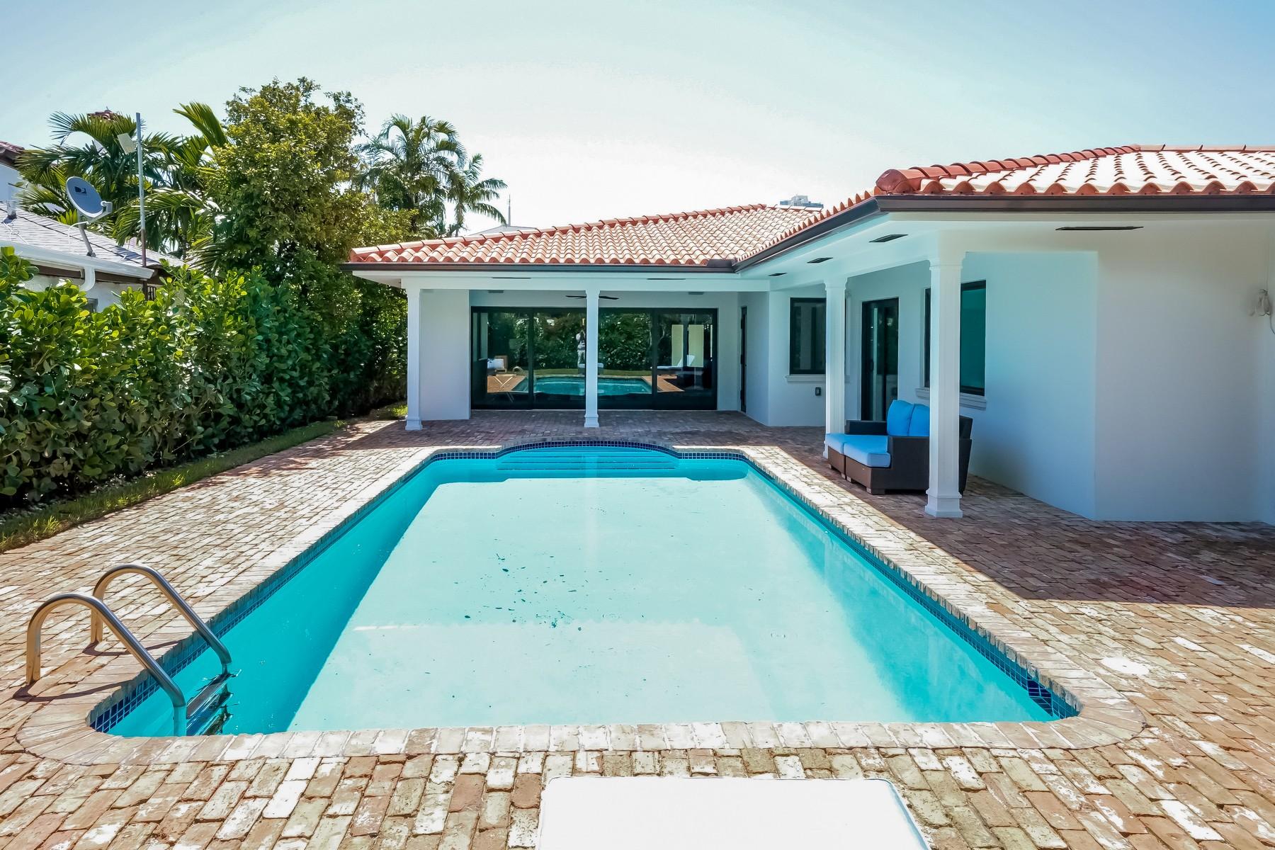 Maison unifamiliale pour l Vente à 2152 Prairie Avenue Miami Beach, Florida 33139 États-Unis