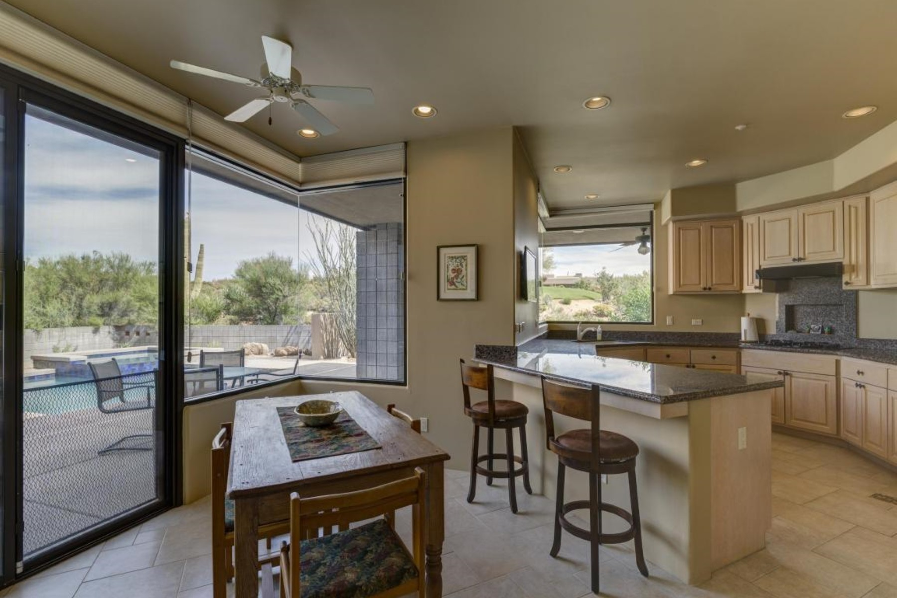 Property Of Furnished Light And Bright Open Floor Plan In Desert Mountain