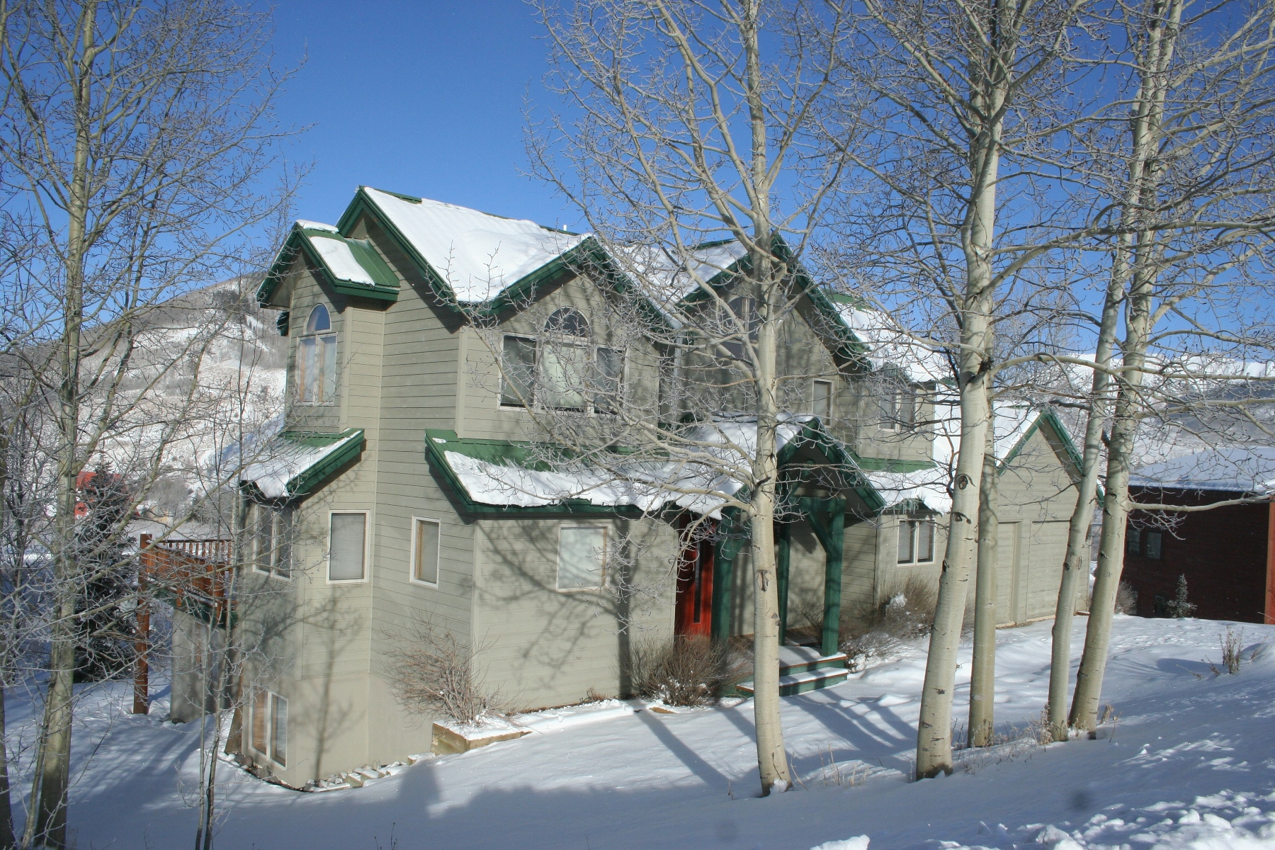 Single Family Home for Sale at Ski Home 29 Cinnamon Mountain Road Mount Crested Butte, Colorado, 81225 United States