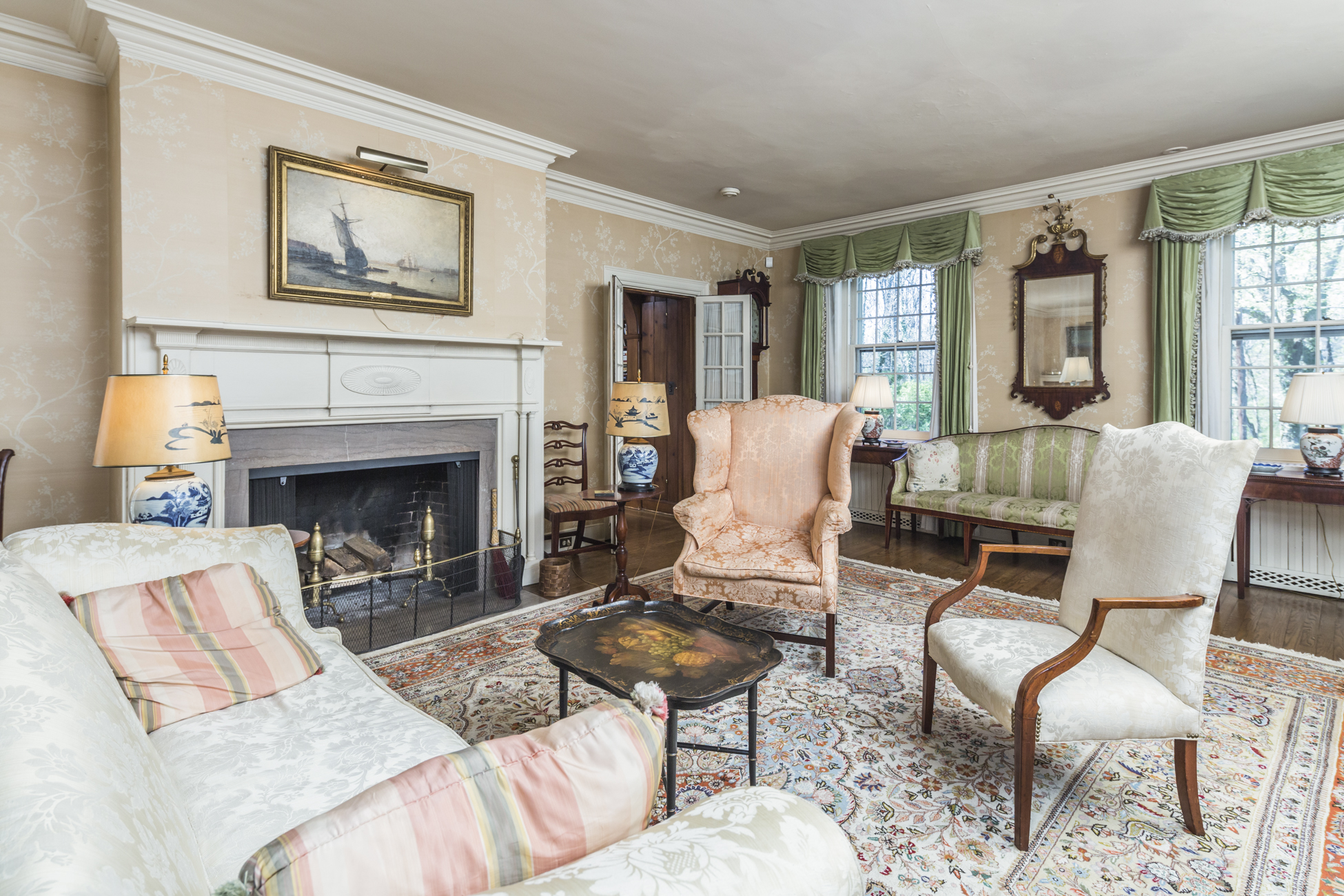 Additional photo for property listing at A Warm and Noble Presence in the Western Section 80 Westcott Road Princeton, New Jersey 08540 United States