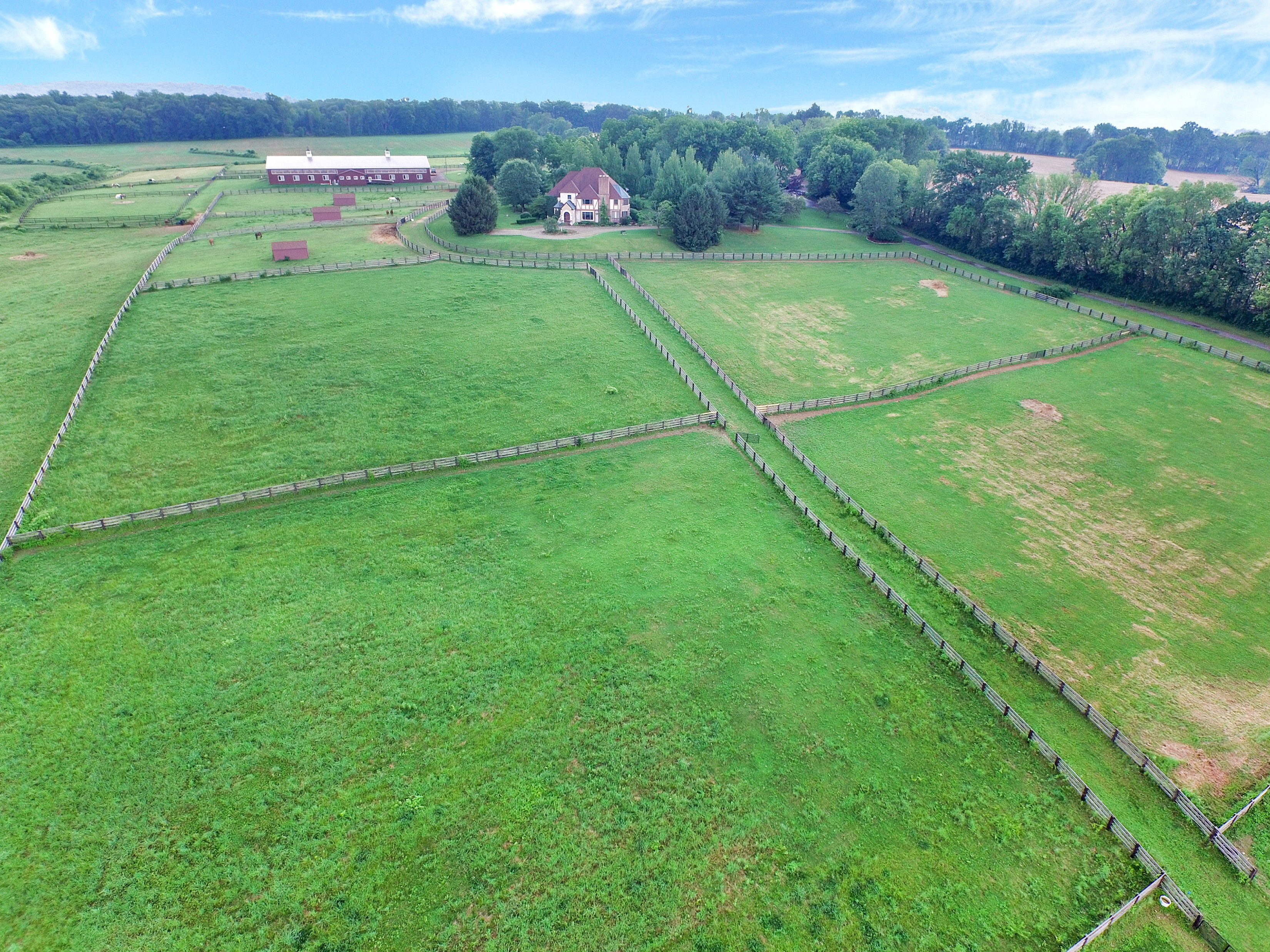 Single Family Home for Sale at Equestrian Estate 160 Esposito Road Harmony Township, New Jersey 08865 United States