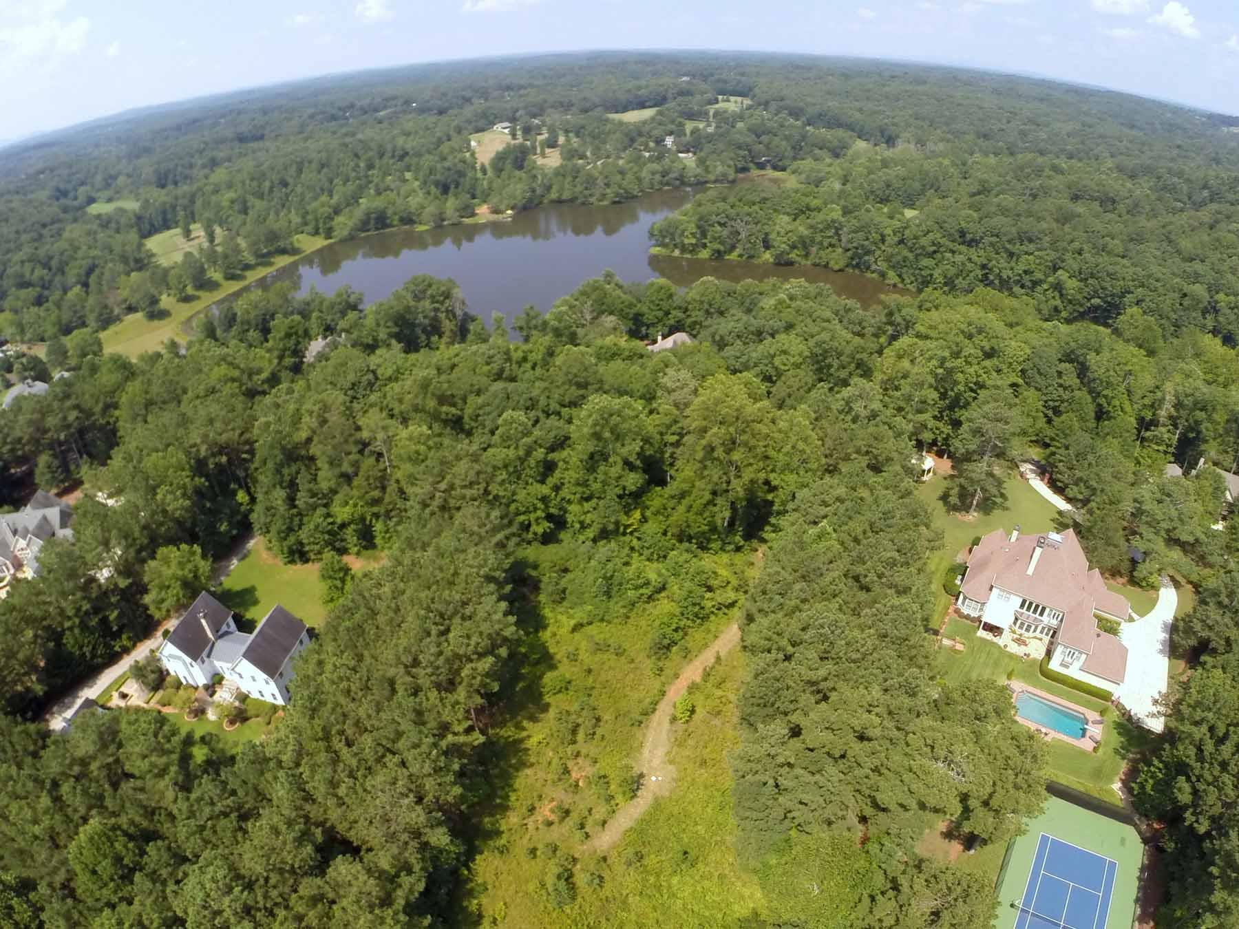 土地 为 销售 在 Three +/- Acres in Allmond Tree Farms 160 Allmond Lane Alpharetta, 乔治亚州 30004 美国