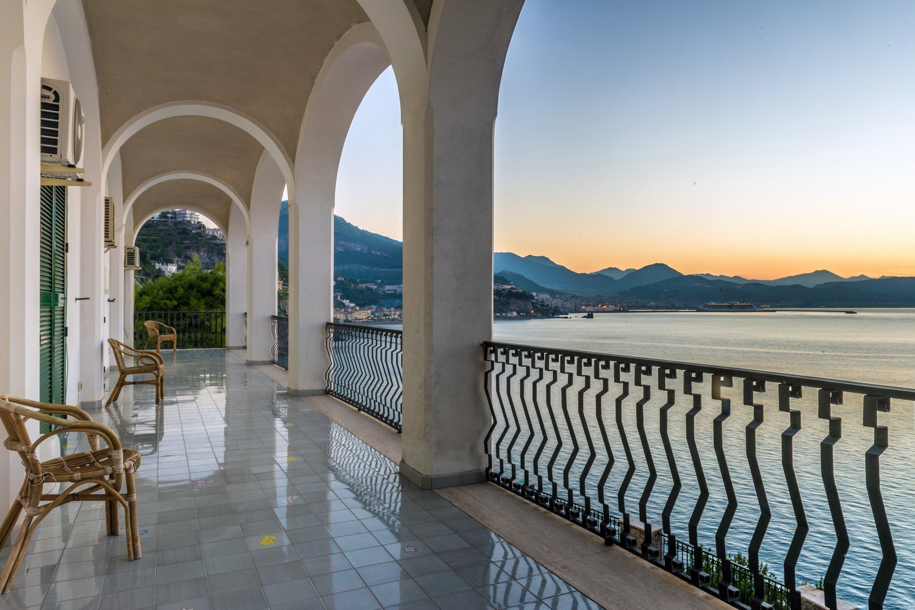 sales property at Unique seafront villa on the Amalfi Coast