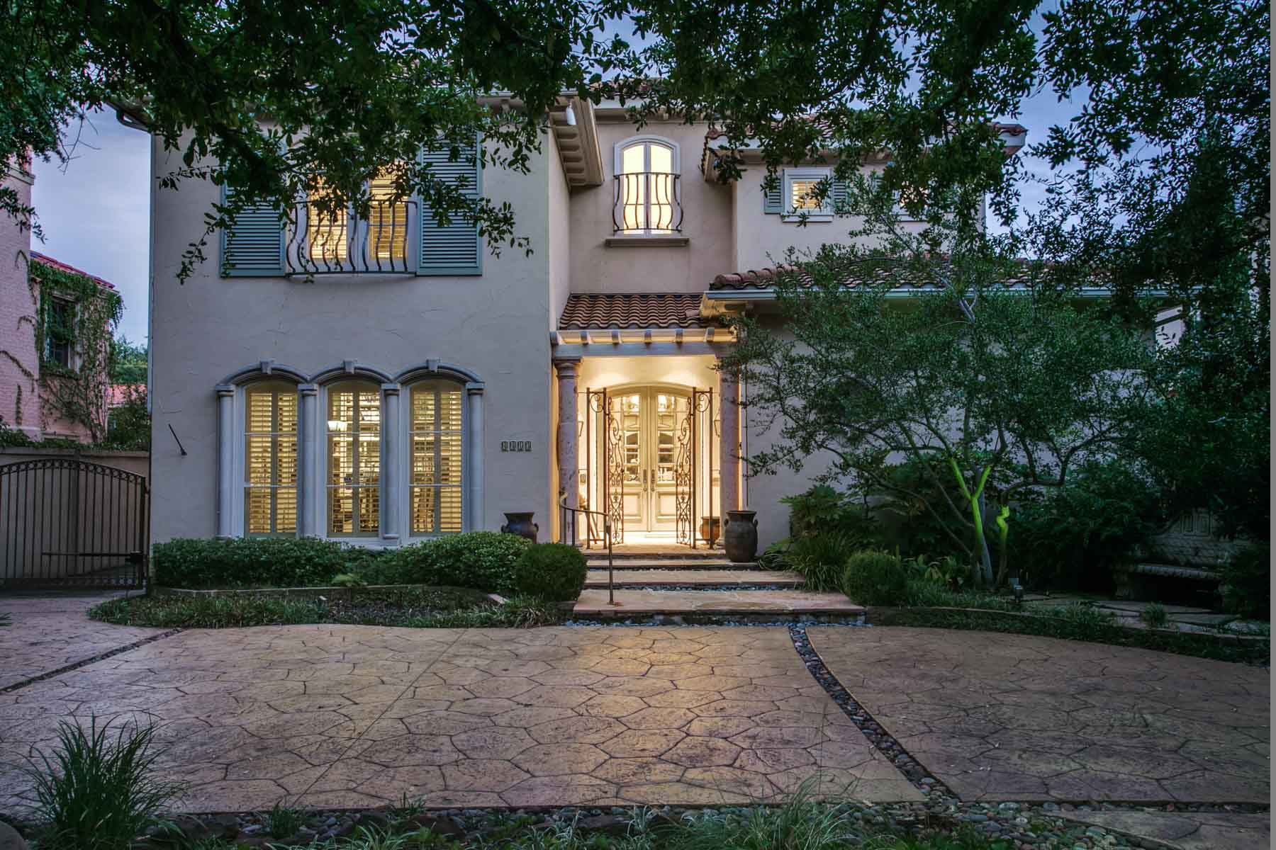 Villa per Vendita alle ore Sophisticated Home Built in 1999 Located in Highland Park 4413 Beverly Drive Dallas, Texas, 75205 Stati Uniti
