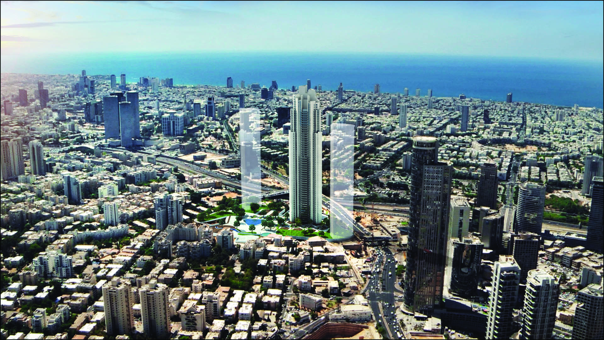 Additional photo for property listing at Exquisite Brand New Apartment with a Sea View Tel Aviv, Israel Israel