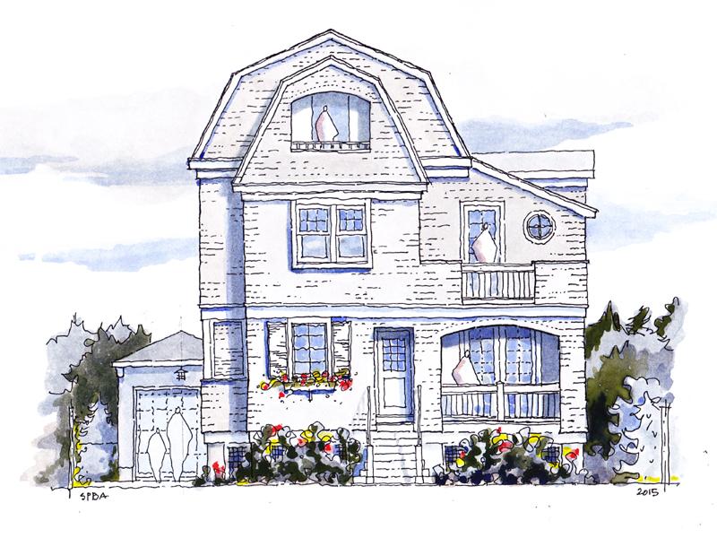단독 가정 주택 용 매매 에 Exquisite Design And Architecture 815 Main Avenue Bay Head, 뉴저지 08742 미국