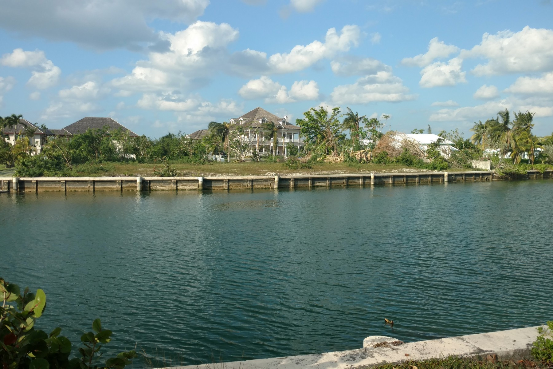 sales property at Shamrock Road Canal Front Lot