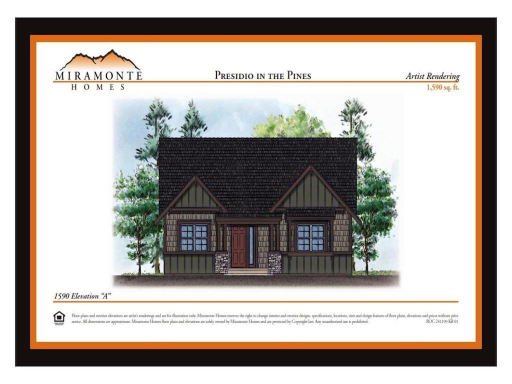 Maison unifamiliale pour l Vente à Well Acquainted Single Level Home 1590 Plan A Miramonte Homes Presidio Flagstaff, Arizona 86001 États-Unis