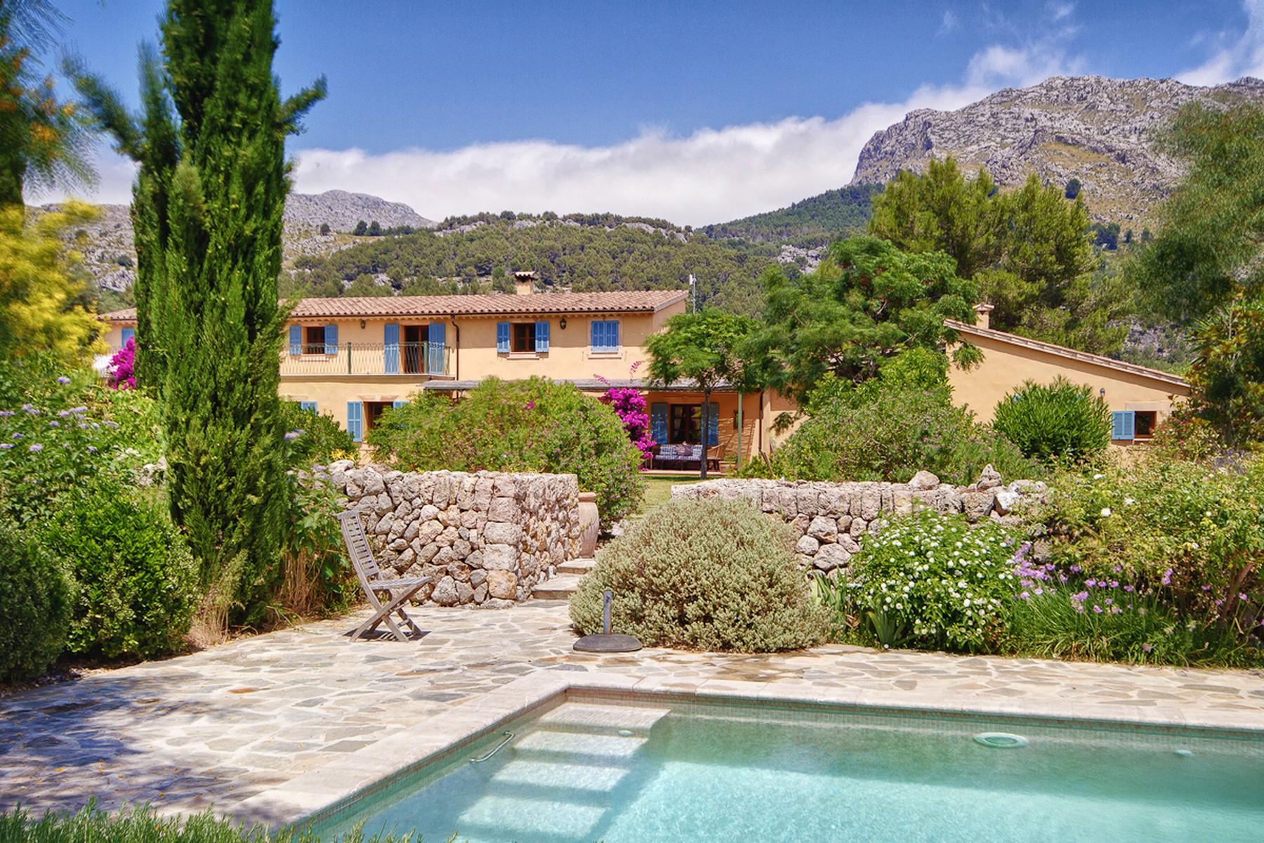 Ferme / Ranch / Plantation pour l Vente à Idyllic historic country Finca in Pollensa Pollensa, Majorque, 07460 Espagne