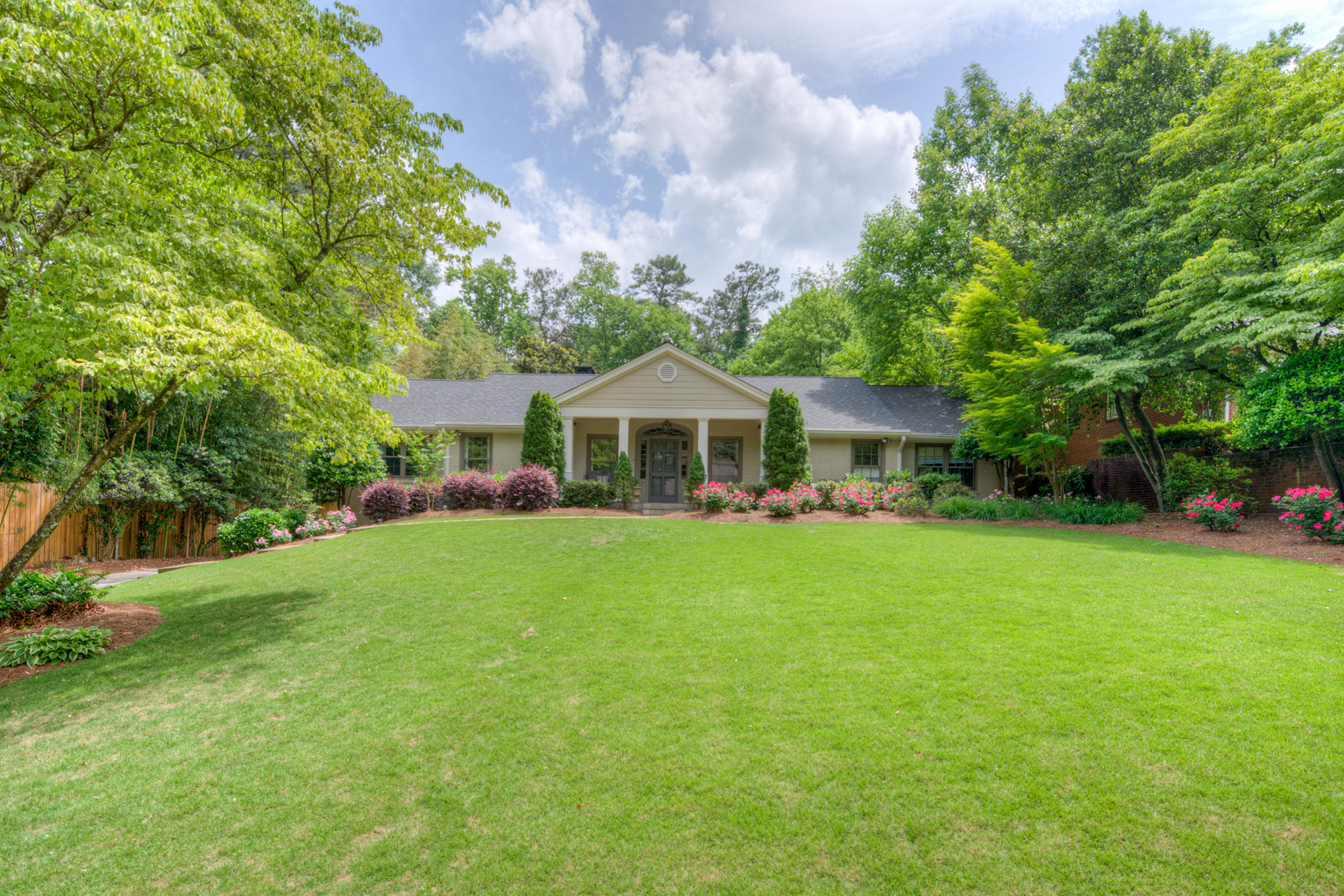 Single Family Home for Sale at Gorgeous Four Bedroom Home in Chastain Park 201 Laurel Forest Circle NE Chastain Park, Atlanta, Georgia 30342 United States