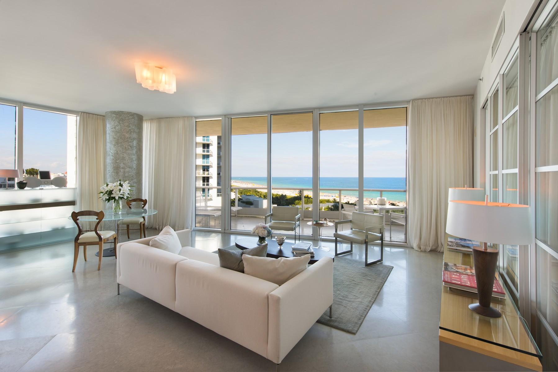 Кооперативная квартира для того Продажа на 100 S Pointe Dr #909 100 S Pointe Dr #909 Miami Beach, Флорида 33139 Соединенные Штаты