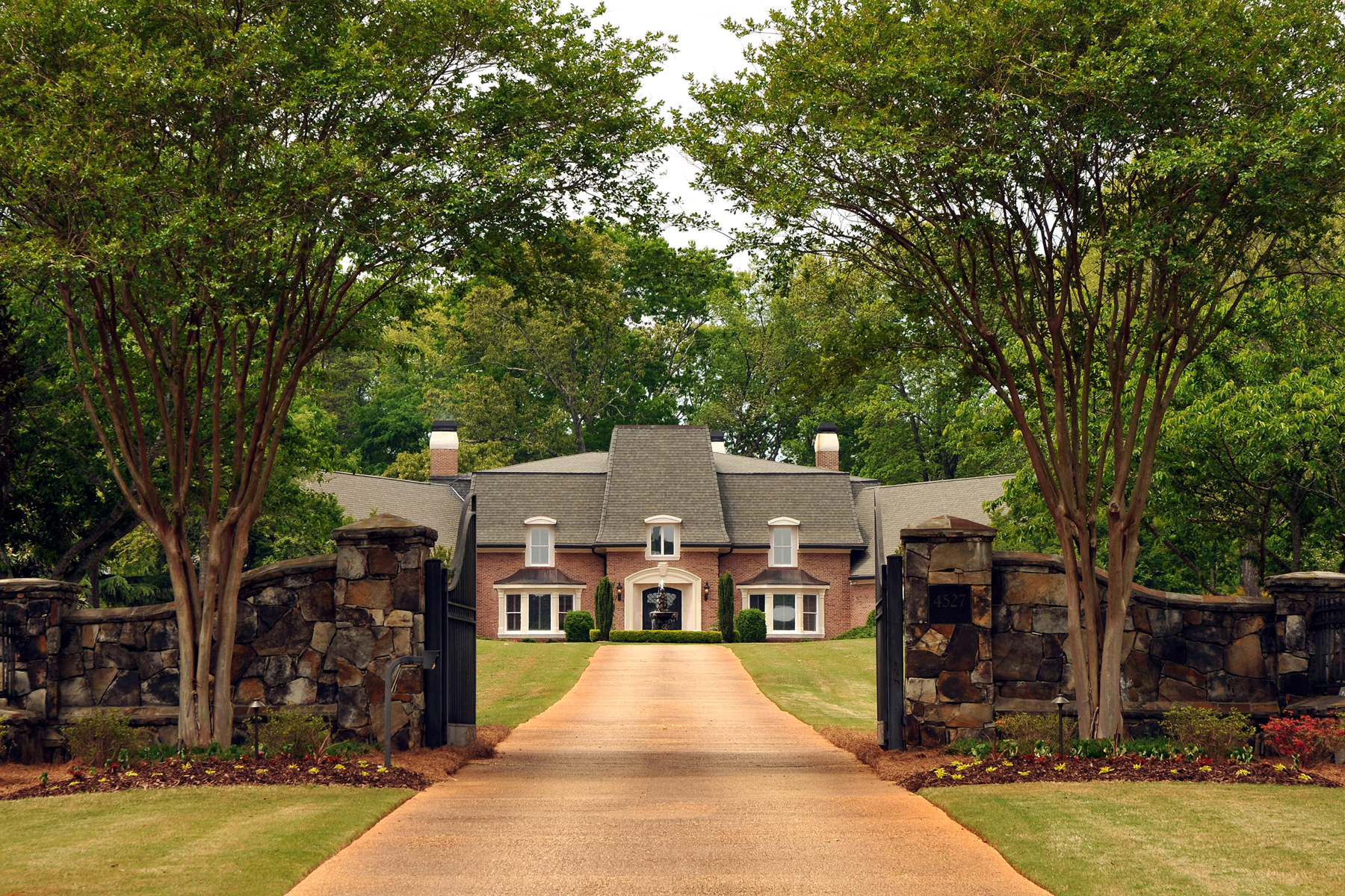 sales property at Glorious European Estate In Gwinnett County