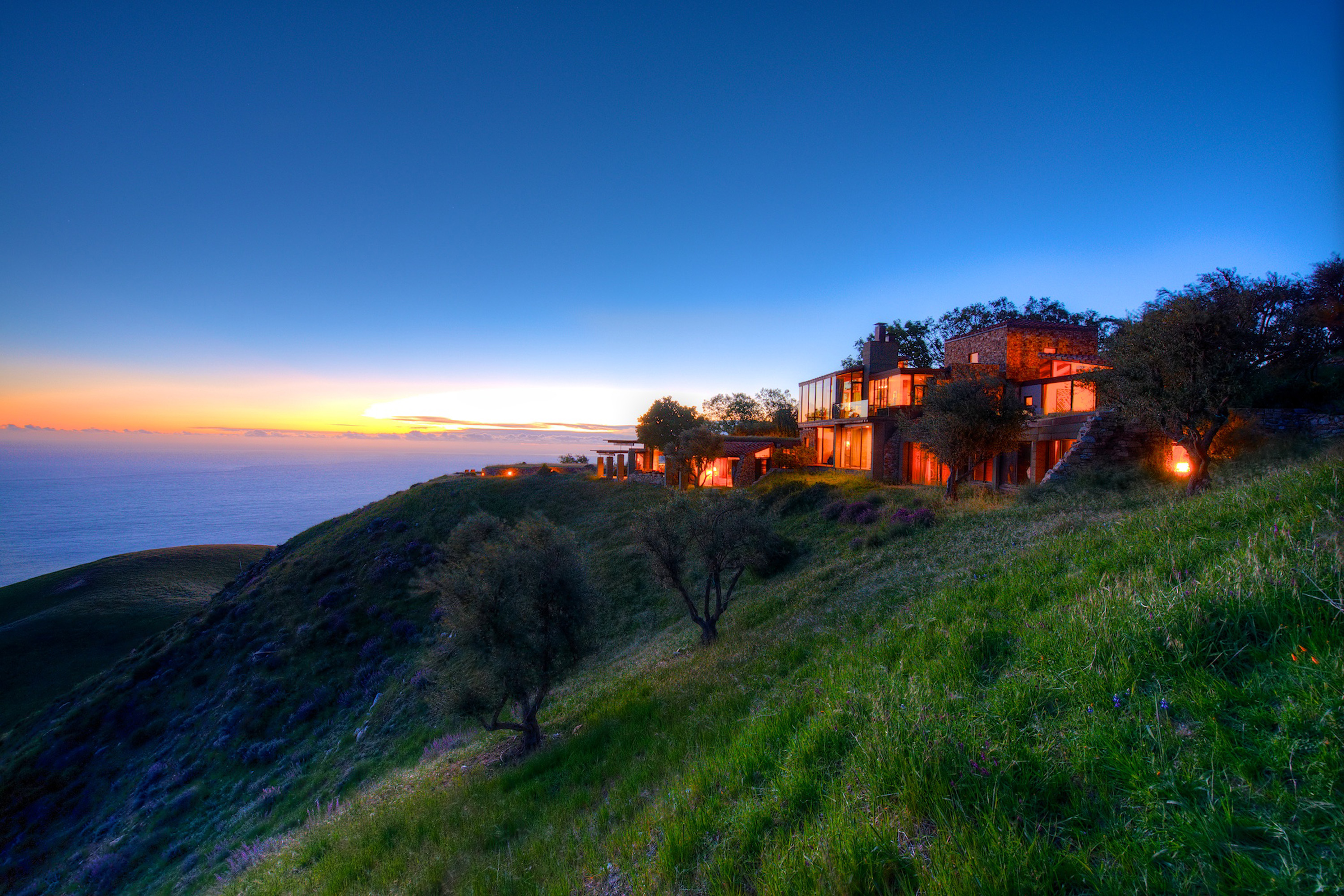 Terreno por un Venta en Big Sur Coast Ridge Estate Big Sur, California 93920 Estados Unidos