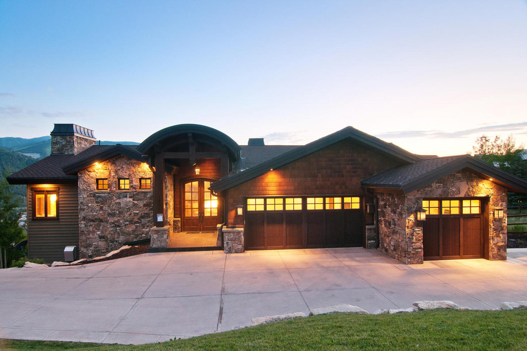 Single Family Home for Sale at Legacy Mountain Masterpiece 1401 Mellow Mountain Rd Park City, Utah 84060 United States