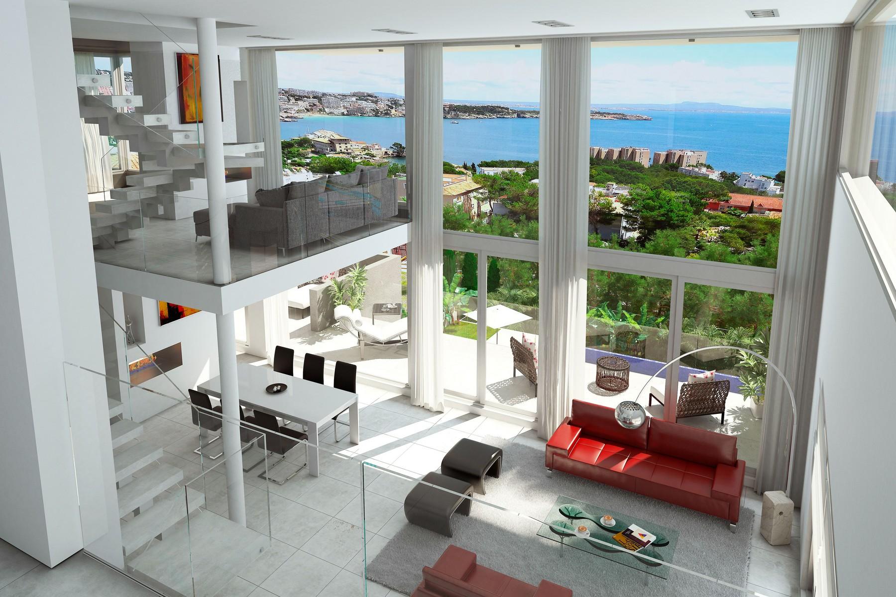 Single Family Home for Sale at Seaview penthouse in Cas Catalá Nou Bendinat, Mallorca 07181 Spain