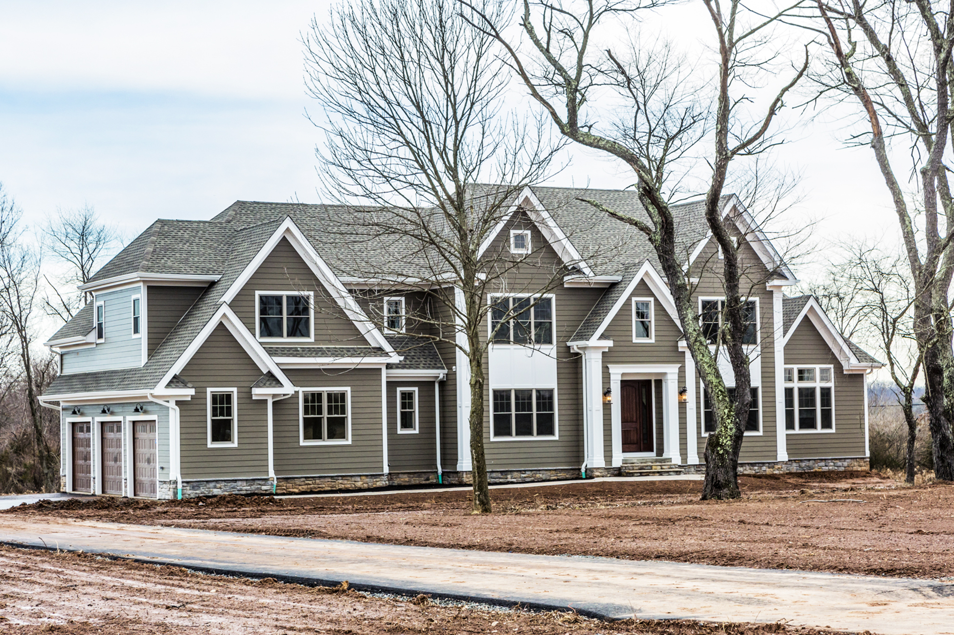 Частный односемейный дом для того Продажа на All New Construction By Rockwell Custom Homes - Hopewell Township 1 Silvers Court Pennington, 08534 Соединенные Штаты