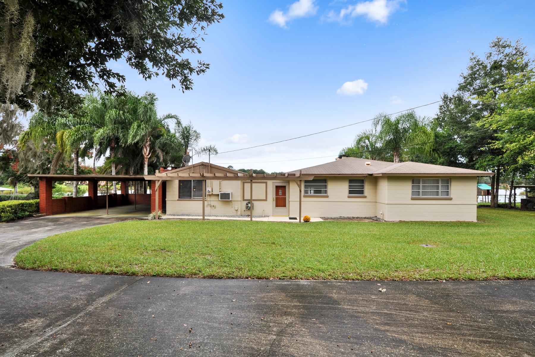 Single Family Home for Sale at Sanford, Florida 1900 Lake Markham Road Sanford, Florida 32771 United States