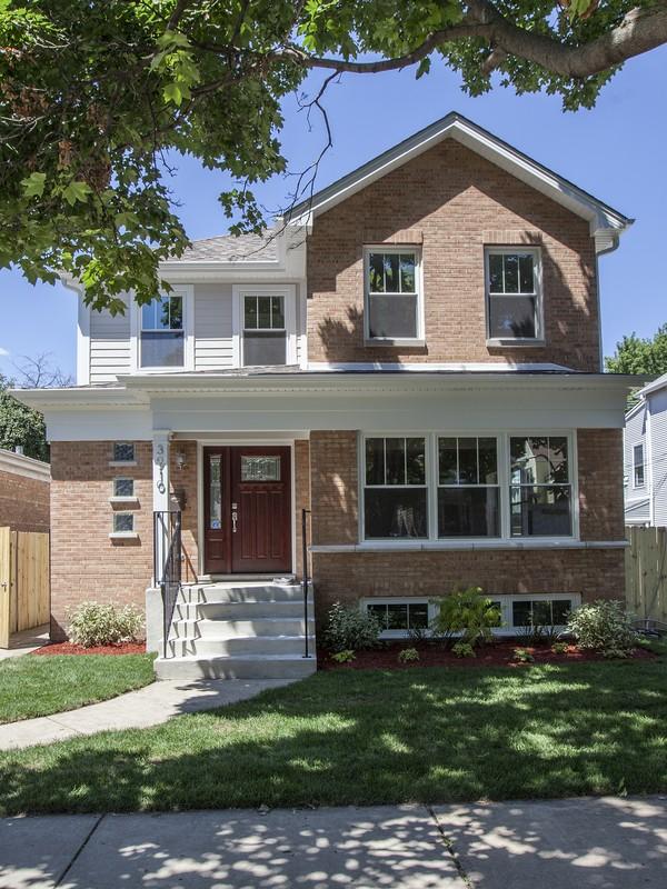 단독 가정 주택 용 매매 에 Fully Rehabbed Single Family Home 3910 N Richmond Street Irving Park, Chicago, 일리노이즈 60618 미국